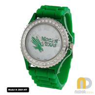 North Texas Mean Green Jelly Watch