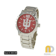 Indiana-Hoosiers-mens-metal-watch