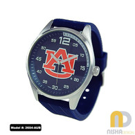Auburn-Tigers-Mens-Jelly-Watch