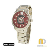 South-Carolina-Mens-Metal-Watch