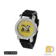 Missouri-Tigers-Ladies-Petite-Jelly-Watch