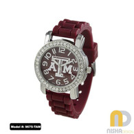 Texas-A-and-M-Ladies-Small-Jelly-Watch