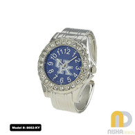 Kentucky-Wildcats-Ladies-Metal-Cuff-Watch