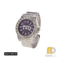 TCU-Ladies-Cuff-Watch