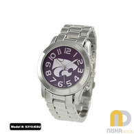 Kansas-State-Wildcats-Ladies-Metal-Watch