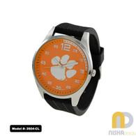Clemson-mens-jelly-watch