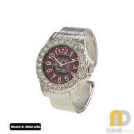 South-Carolina-Ladies-Metal-Cuff-Watch
