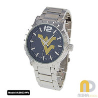 west-virginia-moutaineers-mens-metal-watch