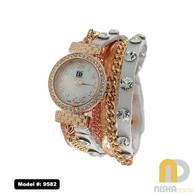 White-rose-silver-busy-bracelet