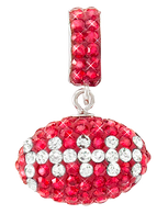 Red-and-white-crystal-football-charm-pendant