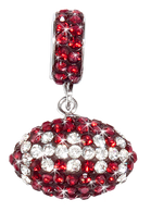 Maroon-and-white-crystal-football-pendant