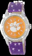 Clemson-Tigers-Glitter-Watch