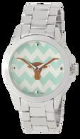 Texas-Longhorns-Chevron-Metal-Watch