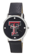 Texas-Tech-Vegan-Leather-Watch