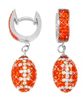 Dark-orange-and-white-football-earrings