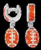 Dark-orange-and-white-football-earrings