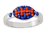 Royal-blue-and-orange-football-ring