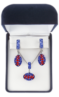 Royal-Blue-and-Orange-Football-Charm-Set