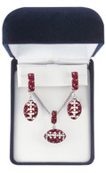maroon-and-white-crystal-football-set