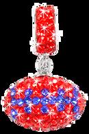Orange-and-blue-crystal-football-charm-pendant