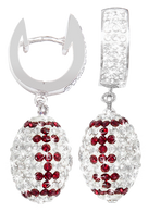 White-and-maroon-crystal-football-earrings
