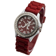 Alabama-Crimson-Tide-Ladies-Jelly-Watch