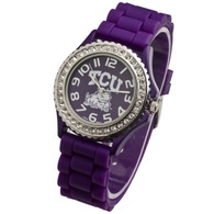 TCU-Horned-Frogs-Jelly-Watch