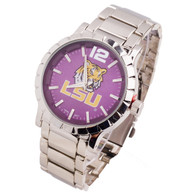 LSU-Tigers-Mens-Metal-Watch