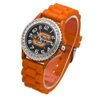 Oklahoma-State-Orange-Band-Jelly-Watch