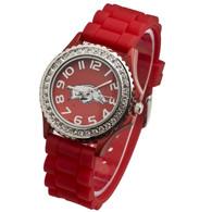 Arkansas-Razorbacks-Red-Jelly-Watch