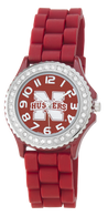 Nebraska-Cornhuskers-Ladies-Jelly-Watch