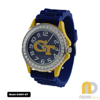 Georgia-Tech-Ladies-Jelly-Watch