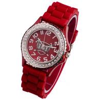 Troy-State-Trojans-Ladies-Jelly-Watch