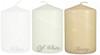 "3""x4 1/2"" Wholesale Pillar Candles Bulk - Set of 12 per Case"