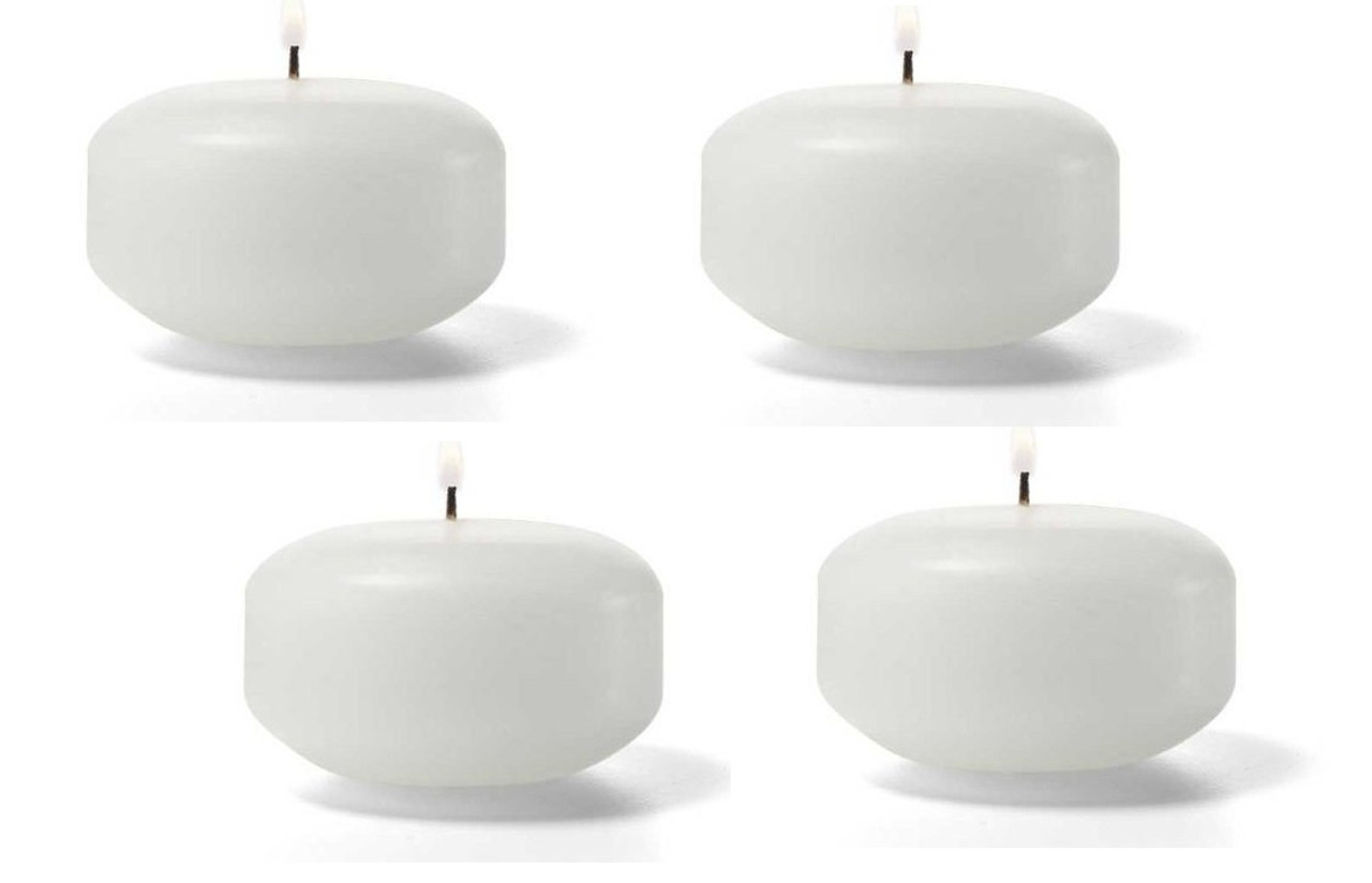 2 inch small bulk wholesale discount floating candles qty 144