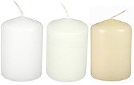 "2""x3"" Bulk Event Pillar candles - Set of 36 Per Case"