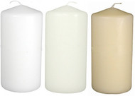 "3""x6"" Wholesale Pillar Candle Full Case  - Set of 12 Per Case"