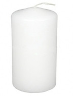 "2""x6"" Pillar Candles White  - Bulk Wholesale - Set of 36 per Case"