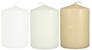 "3""x4 1/2"" Wholesale Pillar Candles Bulk - Set of 12 per Case"