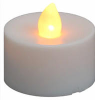 Acolyte LED Tea Light Candle With Flicker Full Case of 288 Pcs