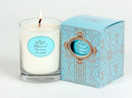 Ergo Soy Candle Paris Collection - 7oz Candle in Clear Glass- Mineral Springs