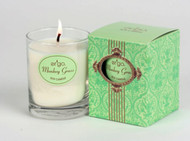 Ergo Soy Candle Paris Collection - 7oz Candle in Clear Glass- Monkey Grass
