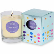 Ergo Soy Candle Solo Collection- 7oz Candle in Clear Glass-  Tuberose