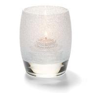 Contour Clear Ice Votive Lamp