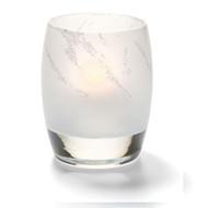 Contour Arctic Jewel Linen Votive Lamp
