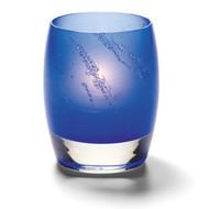 Contour Arctic Jewel Dark Blue Votive Lamp