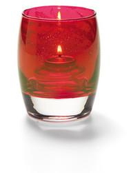 Contour Arctic Jewel Ruby Lustre Votive Lamp