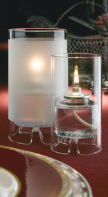 Large Glass Cylinder Lamps Clear