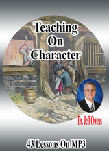 Character and Thanksgiving