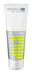 BIODROGA MD CLEAR+ 24H CARE FOR IMPURE/DRY SKIN, 75ml
